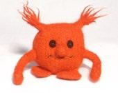Red Mini Hug Monster Toy mascot