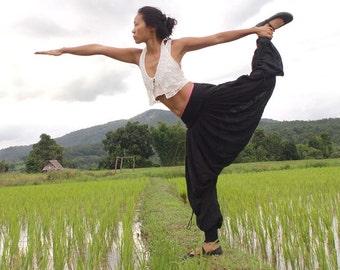 Make it Funky harem long pants... Linen/cotton (all colors)