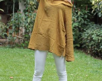 30 USD sale Sassy me long linen cotton blend  (1408) in  sizes M
