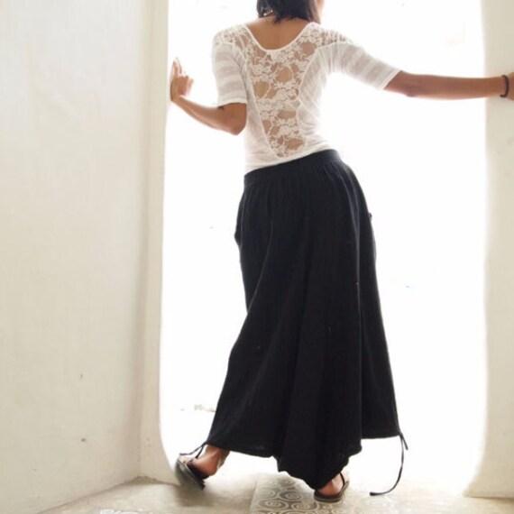 Wabi-Sabi...hippie pants  / harem pants /Linen/cotton In all colour and all size M,L,XL