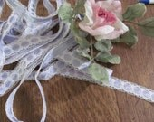 Wow..Lowered Price...Lot 5 Yards Lavender Ribbon Lace Trim