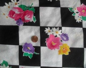Cotton Fabric 1 + yards by Pretty Cranston Print Works 54 X 55