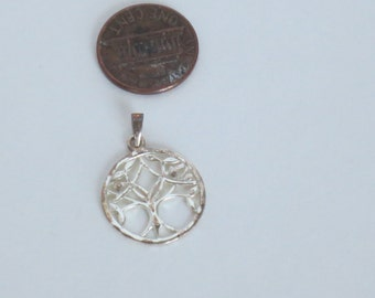 Tree of life Pendant - Sterling Silver tree of life - Pendant - Sterling Silver Pendant