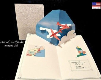 Airplanes Pop-Up Card A9 ITEM 10609-10014