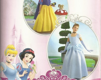 Disney Princess Pattern Simplicity 2817