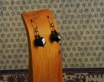 Simply Moody Garnet Crystal Earrings