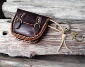 New!!! 2 MiniBooks in a little Briefcase Dark Brown leather.