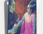 Frankenstein and Bride Phone Case iPhone Samsung Galaxy horror