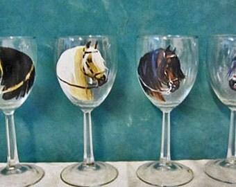 new design Paso Fino wine glasses set 4