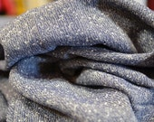 3 3/4 yards 43 wide 90s rayon challis tweed dressmaking fabric