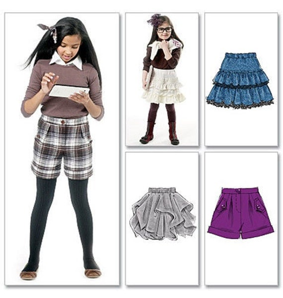 school clothes pattern sale make skirts and shorts