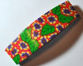 New polymer clay quality made in france clip hair barrette gift by myfiori FREE SHIPPING