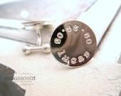Personalized Cufflinks . Hand Stamped Cufflinks . Personalized Cufflinks . Sterling Silver Cufflinks . Brag About It . Braglinks