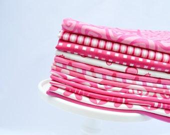 Color Bundle-Me & My Sister Hot Pink 12 FQs