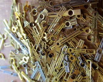 Vintage  Watch parts Hands- Steampunk - Scrapbooking q27