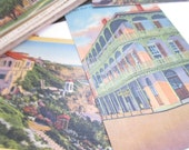 Vintage Postcards Collection Places Hand Tinted Linen 23 Post Cards