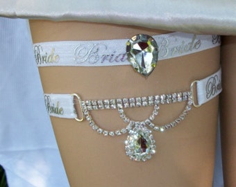 Rhinestone Garter,Garter,Garter Set,Garter,Plus Size Garter,Plus Size Bride,Elegant Garter,Wedding,Bridal Accessories,Bridal