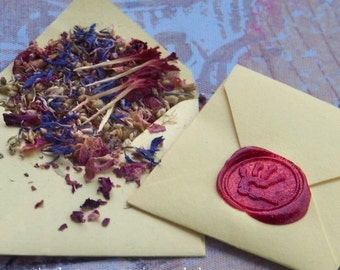 INSPIRE ME Spirit of Magic™ Herb Loaded Envelope Spell by Witchcrafts Artisan Alchemy®