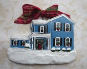 Custom listing for Sugar1212-  one Custom House Ornament- a cherished keepsake of your home