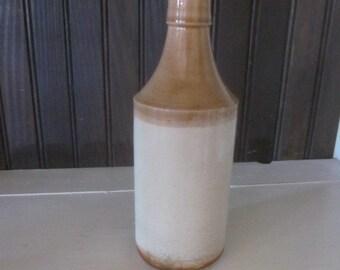Antique Stoneware Beer Bottle H. Kennedy 1935