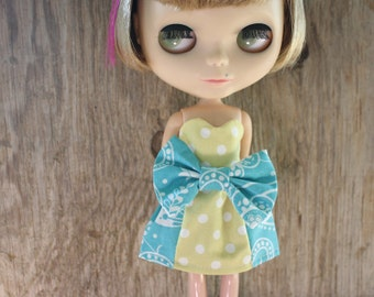 Blythe Dress - Polkadot Floral Sweetheart