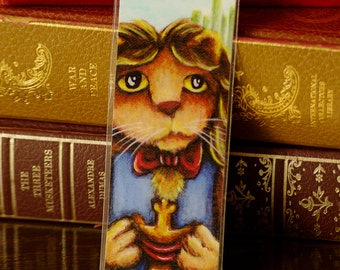 Cowardly Lion Bookmark Wizard of Oz Inspired Cat Bookmark
