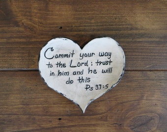 Heart dish, plate, ring dish, wedding gift, hostess gift, gift under 15, bible verse, scripture art, ring dish, handmade earthenware pottery