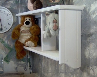 WT601 wall shelf for kitchen spices bedroom animals books bling