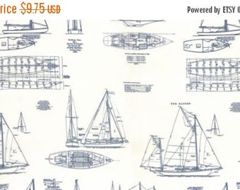 SALE Passport from 3 Sisters for Moda The Hampton's blueprint in natural