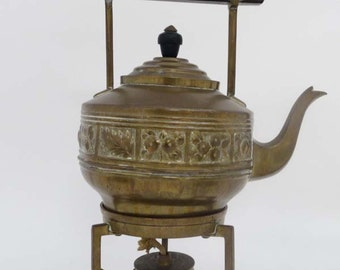 Spirit Kettle, 19th Century with a tripod stand