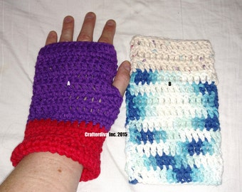 Special Needs Gloves, Gloves For Amputees, Single Gloves, Handcrocheted Gloves, Hand Knitted Gloves
