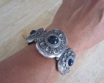 Lucky Brand Cuff Bracelet Midnight Blue Stone