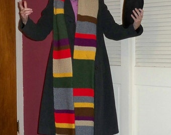 Scarf for Fourth Doctor Costume