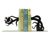 Tentacle Pirate Ship Attack Bookends - Free USA Shipping