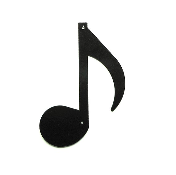 Eighth Note Wall Art Metal - Free USA Shipping