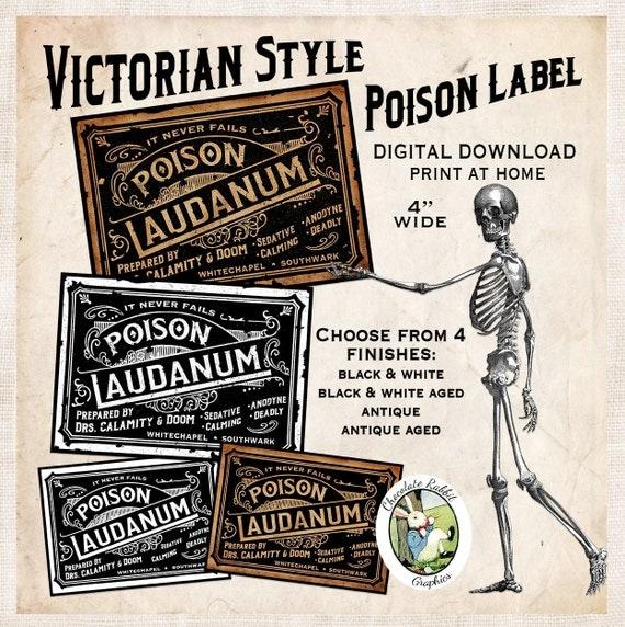 Victorian Poison Laudanum
