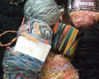 SALE - Mystery Box  of Yarn Supplies - Crochet & Knitting