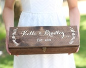 Personalized Wine Box Custom Keepsake Time Capsule Wedding Gift (Item Number MHD100008) Morgann Hill Designs