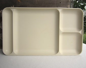 Vintage Tupperware Tray Cafeteria Divided Patio Picnic
