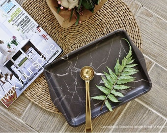 MARBLE WAVE TRAY