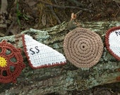 Nautical Coaster Set - PDF Crochet Pattern - Instant Download