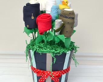 Boy Newborn Gift Set, Boy Newborn Set, Gift Idea for Baby Boy, Newborn Boy Clothes, Boy Baby Shower Ideas, Boy Infant Gift Basket