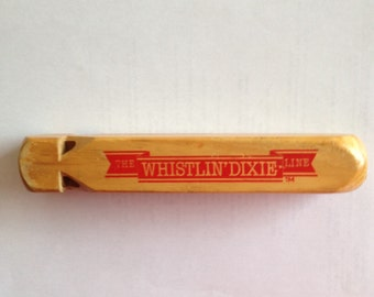 """Wooden Whistle """"The Whistlin' Dixie Line"""""""