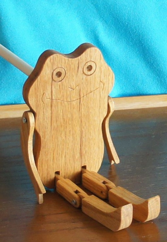 Limberjack Frog with dancing board and stick