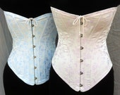 c. 1905 Mae Corset in Brocade Coutil