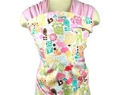 Baby Carrier Pink Stretchy Wrap Baby Wrap- Woodland Owls - FAST SHIPPING - Instructional DVD Included