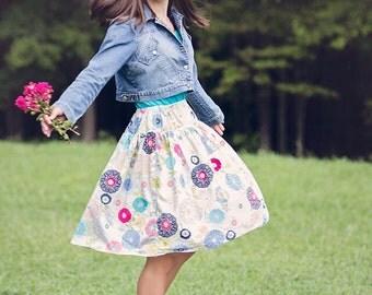 ON SALE! Wonderland, mommy OR me twirl skirt