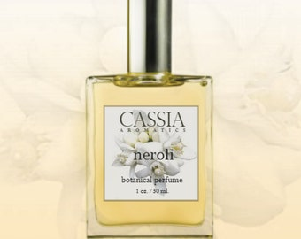Neroli Botanical Perfume The Smell of Happiness Lovely Soft Romantic Perfume Oil Great for Any Season