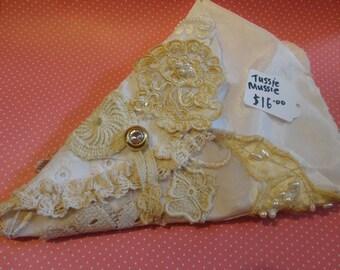 Shabby Handmade Vintage Tussie Mussie