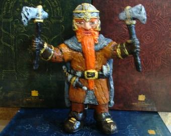 Dwarven Warrior Figurine *Made To Order*